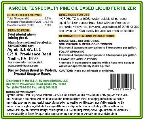 Agrogreen Specialty Liquid Fertilizer